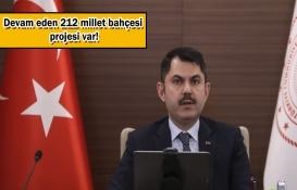 Murat Kurum'dan 81 ile millet bahçesi müjdesi!