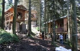 Gölcük'teki bungalov ve otel projesini mahkeme durdurdu!