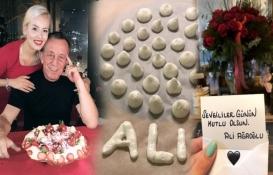 Ali Ağaoğlu'ndan romantik Sevgililer Günü kutlaması!