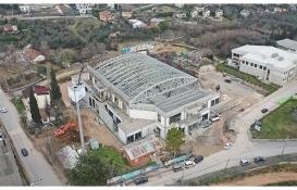 Kocaeli Darıca Spor Salonu tamamlanıyor!
