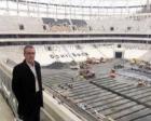 Necmettin Apaydın Vodafone Arena'nın inşaatını inceledi!