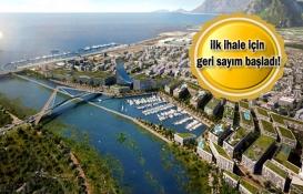 Kanal İstanbul'un ilk ihalesi sonbaharda!