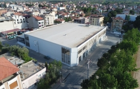 Sarıgöl Kapalı Otopark ve Pazaryeri'nin inşaatı tamamlandı!