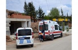 Bilecik'te inşaattan düşen işçi yaralandı!