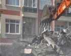Kırşehir İl Halk Kütüphanesi'nin binası yıkıldı!