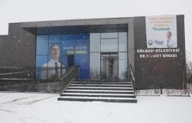 Gölbaşı Belediyesi İncek ek hizmet binası açıldı!