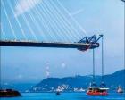 3. Boğaz Köprüsü'nde montaj ve kaynak işlemleri sona erdi!
