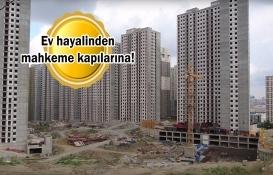 İstanbul'da 100 bin konut mağduru seslerini duyurmak istiyor!