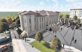 Beyşehir'e yeni emniyet müdürlüğü binası!