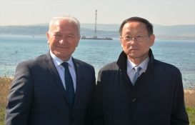 Kore Büyükelçisi 1915 Çanakkale Köprüsü'nü inceledi!