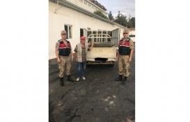 Kilis'te inşaat demiri çalan 4 kişi yakalandı!