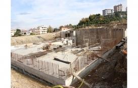 Antalya Serik Kültür Merkezi inşaatı yükseliyor!