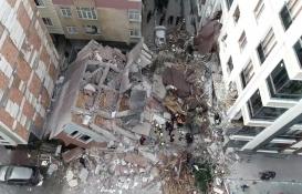 Bahçelievler'de çöken bina sonucunda iki kişi yaralandı!
