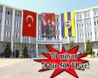 Ataşehir Fenerbahçe Eğitim Kurumları, Milli Emlak'tan satılıyor!