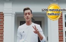 Mesut Özil'in Londra'daki lüks evi!