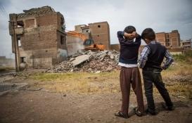 Sur'daki tarihi yapılar tahrip edildi!
