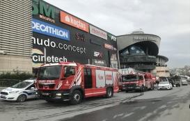 Mall of İstanbul AVM'de yangın!