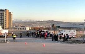 Elazığ'da kaza yapan minibüsteki 8 inşaat işçisi yaralandı!