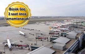 İstanbul Havalimanı'na taşınmanın yüzde 70'i tamamlandı!