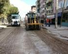 Manisa Soma'nın caddeleri yenileniyor!