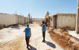 İdlib'de engelli ve yetimler için 100 konut inşa ediliyor!