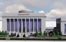 Ankara Çubuk Belediyesi'nin yeni binasında sona gelindi!