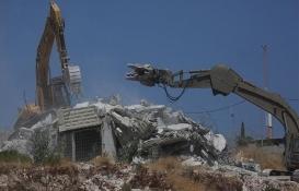 Filistinlilere ait evlerin yıkımı