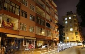 Rize'de kolonunda çatlak oluşan 11 katlı bina tahliye edildi!