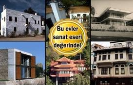 Türkiye'nin en güzel 6 evi!