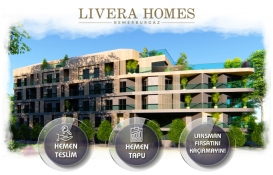 Livera Homes Kemerburgaz'da özel indirim fırsatı!
