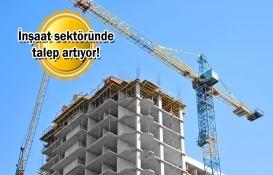 Yeni alınan inşaat işleri Temmuz'da yüzde 14.8 arttı!