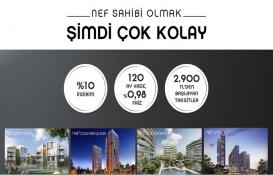 NEF projelerinde 2 bin 900 TL taksitle konut fırsatı!
