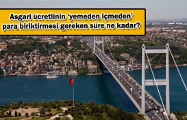 Yeni asgari ücretle İstanbul'dan kaç yılda ev alınıyor?