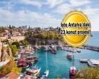Markalı konutçuların yeni rotası Antalya!