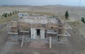 Kayseri'de Gıyaseddin Keyhüsrev'in yaptırdığı tarihi köşke restorasyon!