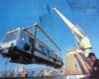 1999 yılında İstanbul Metrosu'nun vagonları İstanbul'a gelmiş!