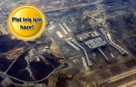 3. Havalimanı Cumhurbaşkanı Erdoğan'ın uçağını bekliyor!