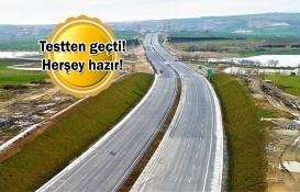 Kuzey Marmara Otoyolu'nun Gebze-İzmit Etabı bugün açılıyor!
