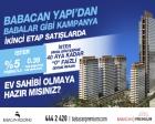 Babacan Premium Tower'da cazip ödeme koşullarıyla!