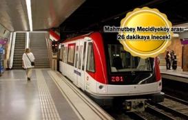 Kabataş-Mecidiyeköy-Mahmutbey metrosu yıl