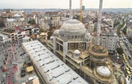 Taksim Cami'nin kaba inşaatı tamamlandı!