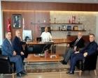 Modoko yönetiminden Ümraniye Belediye Başkanı Hasan Can'a ziyaret!