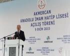 Edirne Akmercan Anadolu İmam Hatip Lisesi açıldı!
