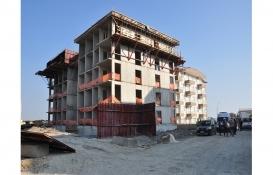 Antalya'da inşaattan düşen işçi öldü!