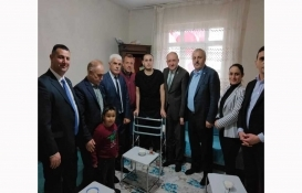 İYİ Parti'li Bedri Yaşar'dan Gazi Sinan Bayır'a ev sözü!