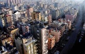 Antalya'da konut satışları yüzde 36 düştü!