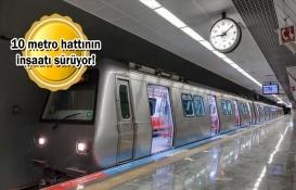 İstanbul'da raylı sistem uzunluğu 263 kilometreye ulaştı!