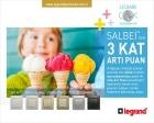 Legrand Salbei ürünleriyle puan kazandırıyor!