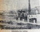 1946 yılında Dolmabahçe Gazhanesi Halıcıoğlu'na kaldırılacak!