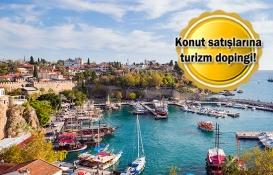 Antalya yabancıya konut satışında İstanbul'u solladı!